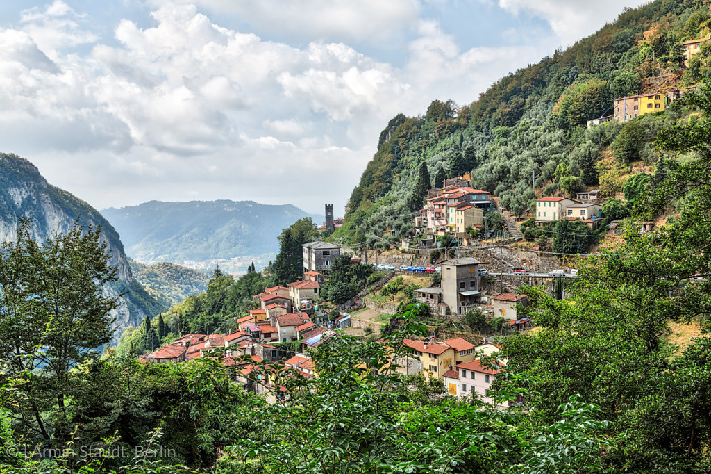 mountain village Casoli LU, Tuscany Italy